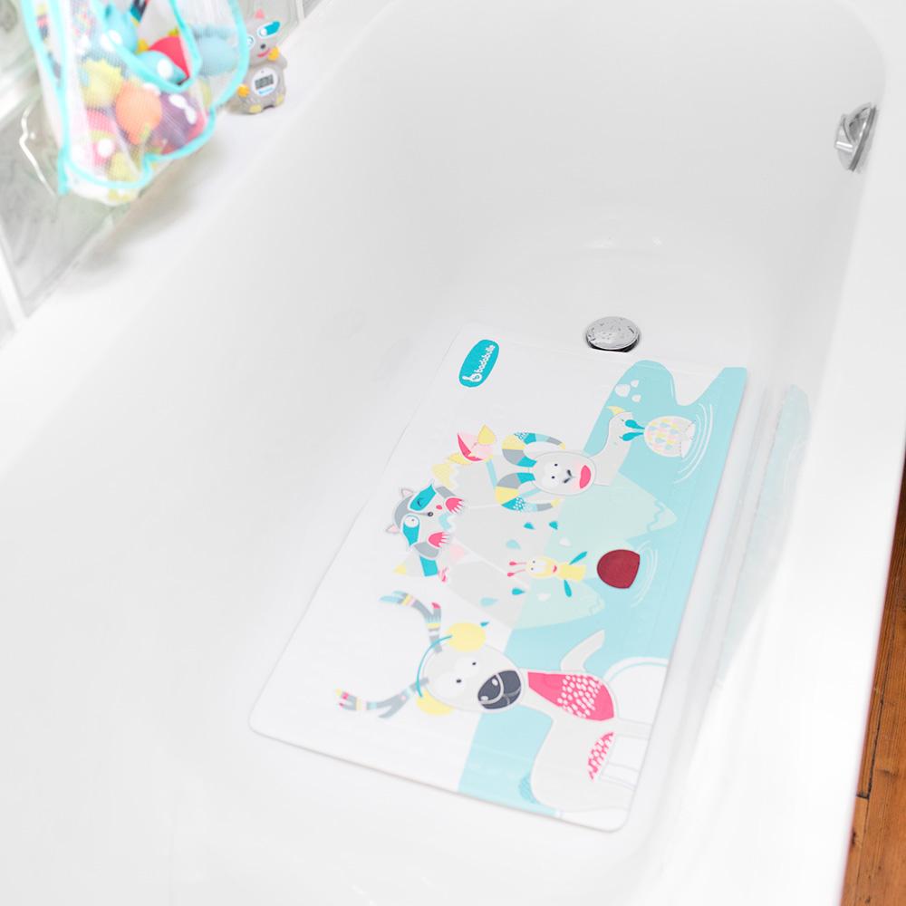 tapis de bain t moin temp rature montagne de badabulle sur. Black Bedroom Furniture Sets. Home Design Ideas