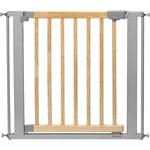 Barrière de sécurité easy-close bois métal 73-82.5 cm pas cher