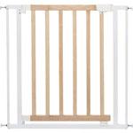 Barrière de sécurité easy close bois métal blanc pas cher