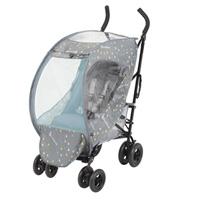 Housse de pluie et moustiquaire pliable et universelle