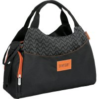 Sac à langer multipocket noir