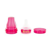 Adaptateur tétine pour bouteille rose