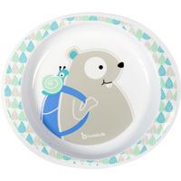 Assiette blue beaver