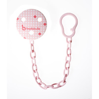 Attache sucette pink dots