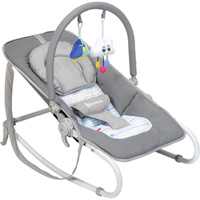 Transat bébé easy white grey