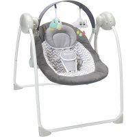 Balancelle bébé gris et blanc confort