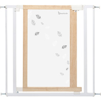 Barrière de sécurité easy close white leaves 74,5-82,5cm