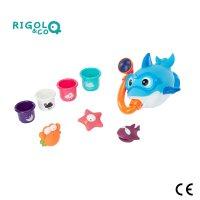 Coffret de jouet de bain bébé rigolo and co