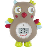 Thermomètre de bain bébé digital hibou