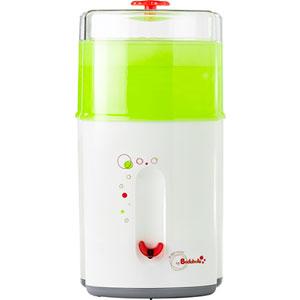 Stérilisateur biberon électrique gris/vert