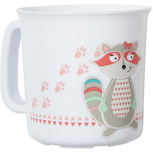Tasse bébé pink racoon