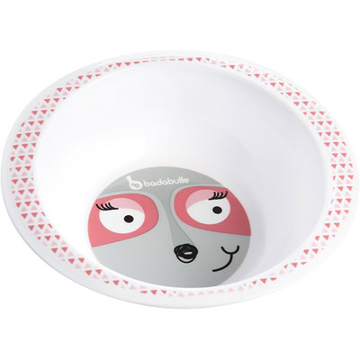 Bol pink racoon Badabulle