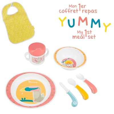 Coffret repas yummy fille Badabulle
