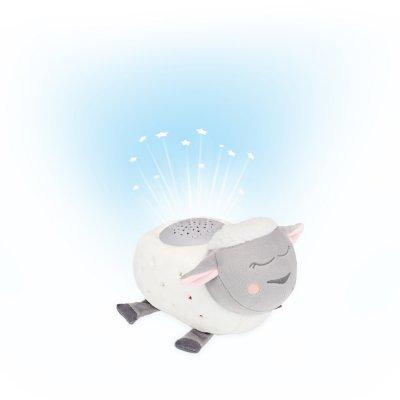 Veilleuse bébé peluche musicale mouton Badabulle