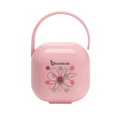 Boîte à sucette rosée gourmande Badabulle