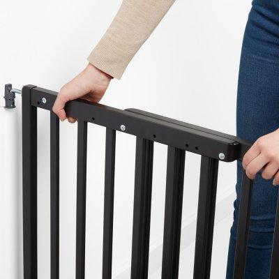 Barrière de sécurité déco pop fixation vis et pression noir Badabulle