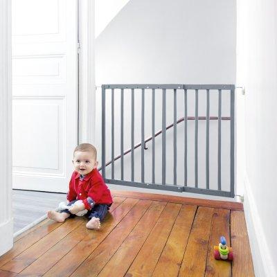 Barrière de sécurité color pop 63-103,5cm gris Badabulle