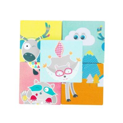 Jouet de bain bébé puzzle Badabulle