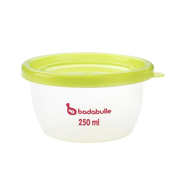 Lot de 5 pots de conservation maxi-portions Badabulle