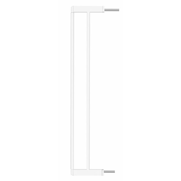 Extension 14cm pour barrière easy close blanche Badabulle