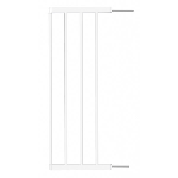 Extension 28cm pour barrière easy close blanche Badabulle