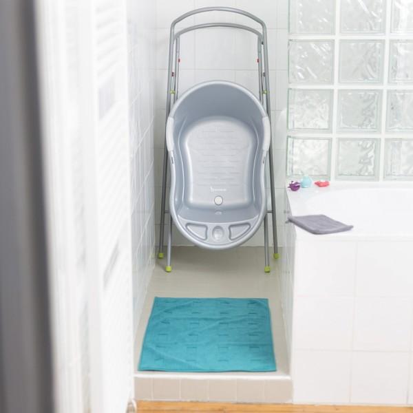 baignoire b b ergo ludique gris perl de badabulle. Black Bedroom Furniture Sets. Home Design Ideas