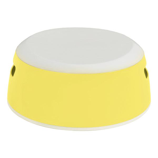 Marche-pied luma jaune ensoleillé Luma