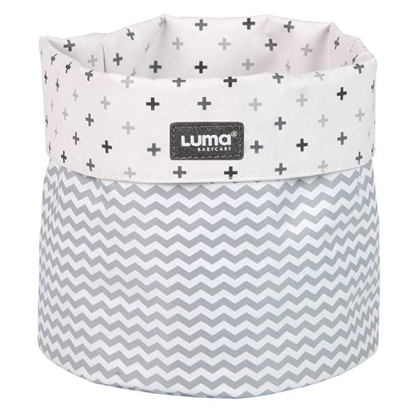 Panier de rangement luma blanc de luma en vente chez cdm for Rangement papier toilette blanc