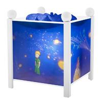 Veilleuse bébé lanterne magique le petit prince blanc