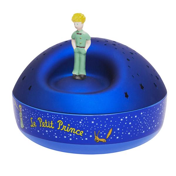 Veilleuse bébé musicale projecteur d'étoiles le petit prince Trousselier