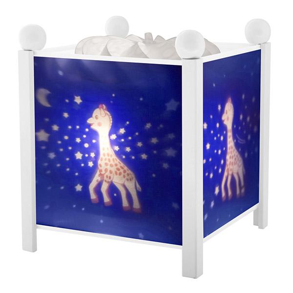 Veilleuse bébé lanterne magique spohie la girafe voie lactée Trousselier