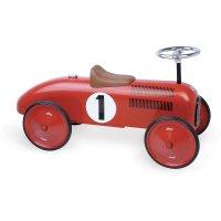 Porteur bébé voiture vintage rouge