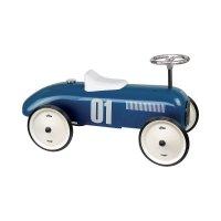 Porteur bébé voiture vintage bleu pétrole