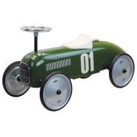 Porteur voiture vintage vert