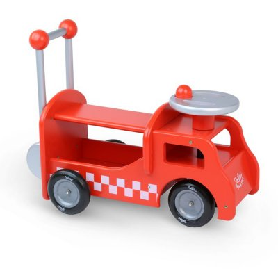 Camion porteur pompier 2 en 1 Vilac