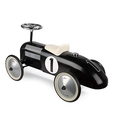 Porteur bébé voiture vintage noir Vilac