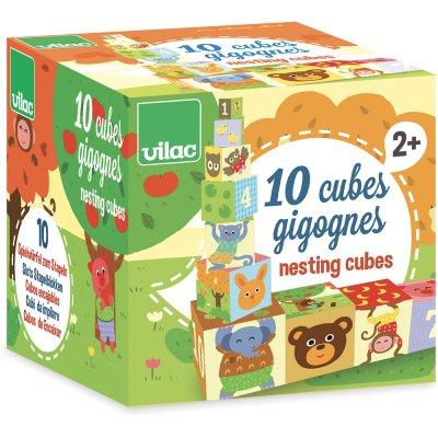 Jouet bébé cubes gigognes Vilac