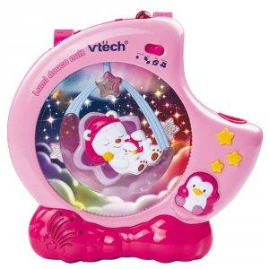 Veilleuse bébé lumi douce nuit rose