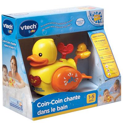 Jouet de bain coin-coin chante dans le bain Vtech