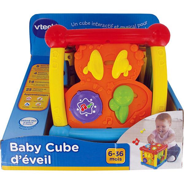 Jouet d'éveil baby cube d'éveil Vtech