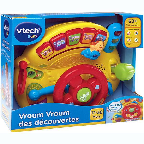 Jouet d'éveil vroum vroum des découvertes Vtech