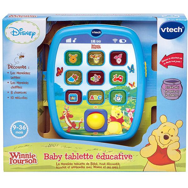 Jouet d'éveil baby tablette éducative winnie Vtech