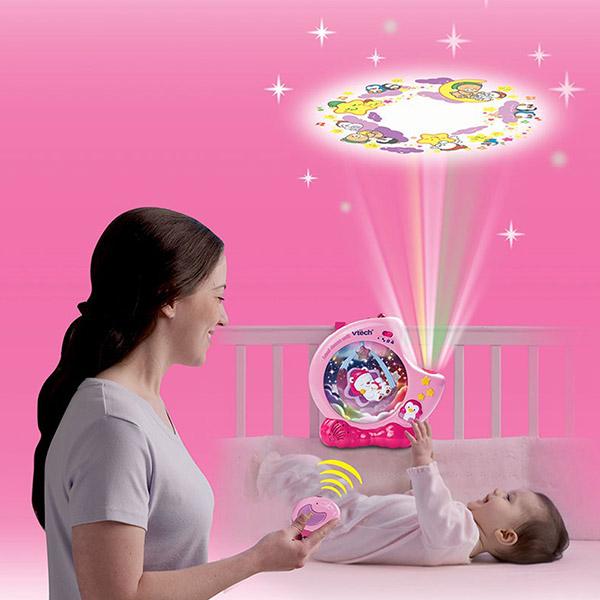 Veilleuse bébé lumi douce nuit rose Vtech