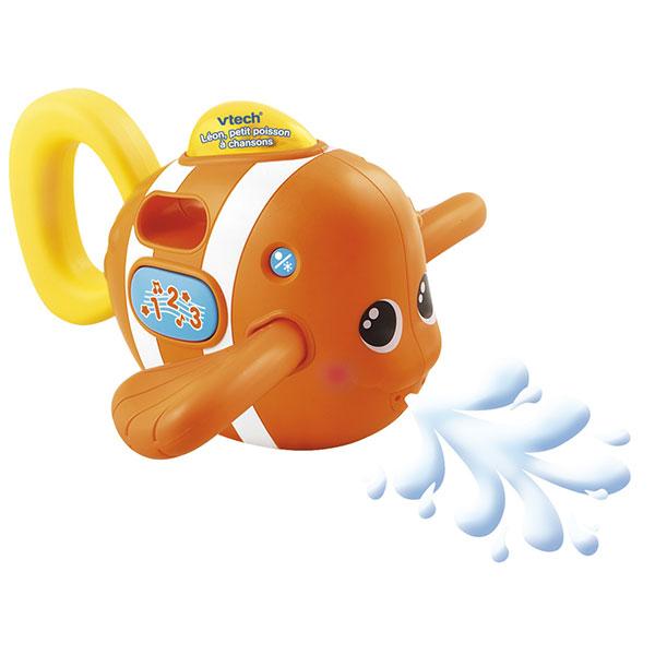 Jouets de bain bébé léon, p'tit poisson à chansons Vtech