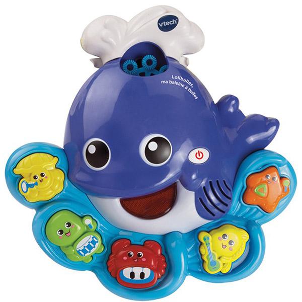 Jouet de bain lolibulles ma baleine à bulles Vtech