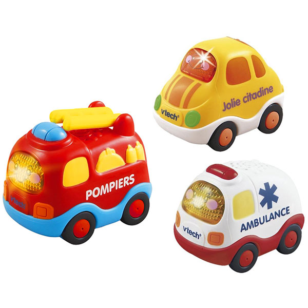 jouets d 39 veil b b voiture tut tut bolides pompiers ambulance citadine 25 sur allob b. Black Bedroom Furniture Sets. Home Design Ideas