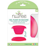 Bol silicone 690 lml rouge pas cher