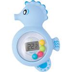 Thermomètre de bain bébé hippop pas cher