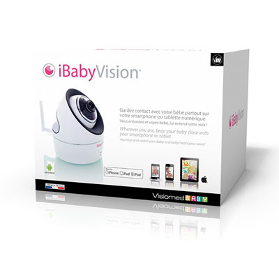 Ecoute bébé ibabyvision Visiomed