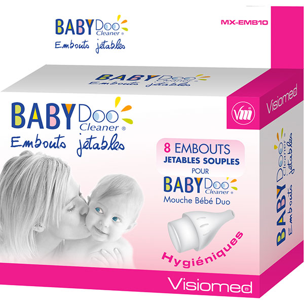 Embouts mouche bébé duo x 8 Visiomed